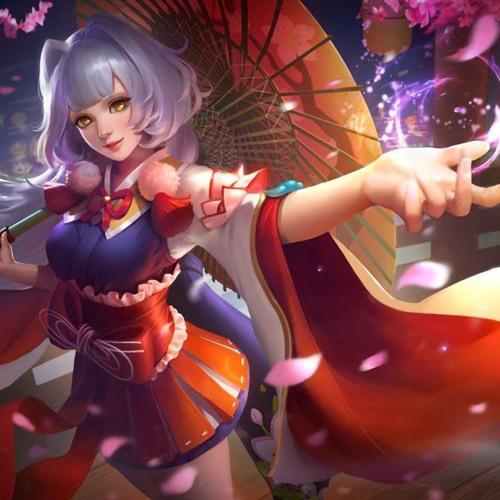 Mobile Legends Kagura Voice Song Aurora (Sakura Hitam Remix