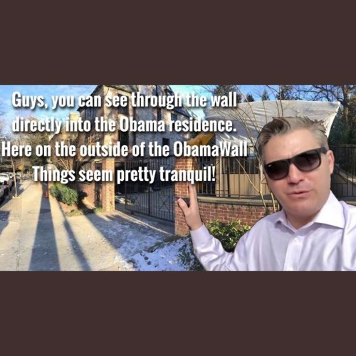 20190114- Jim Acosta's Tranquility - Outside President Obama's Home