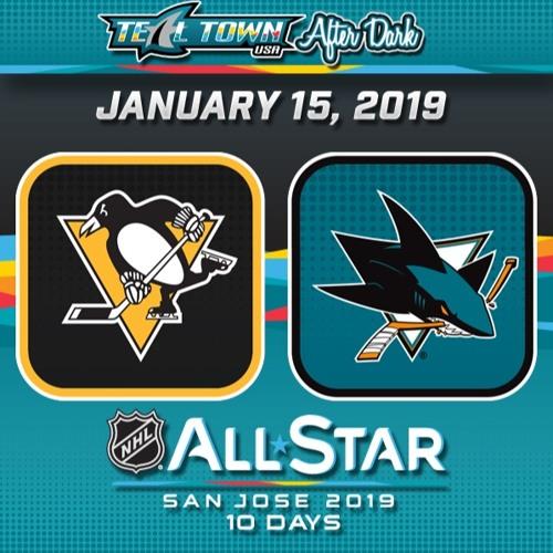 Teal Town USA After Dark (Postgame) - San Jose Sharks vs Pittsburgh Penguins - 1-15-2019