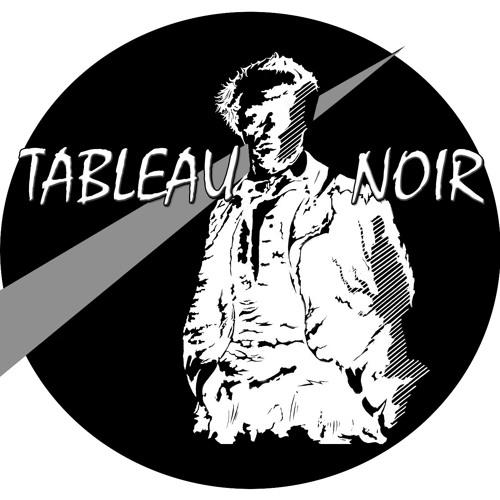 TABLEAU NOIR EFFLEURE LE MAL