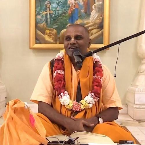 Śrīmad Bhāgavatam class on Wed 16th Jan 2019 by HH Bhakti Mukunda Swami 4.18.27