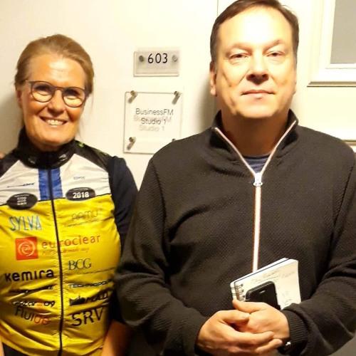 BusinessFM ja Team Rynkeby-God Morgon yhteistyöhön. Maajohtaja Kirsi Pärssinen.