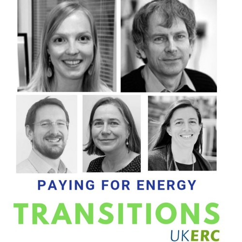 Paying for energy transitions: public perspectives and acceptability