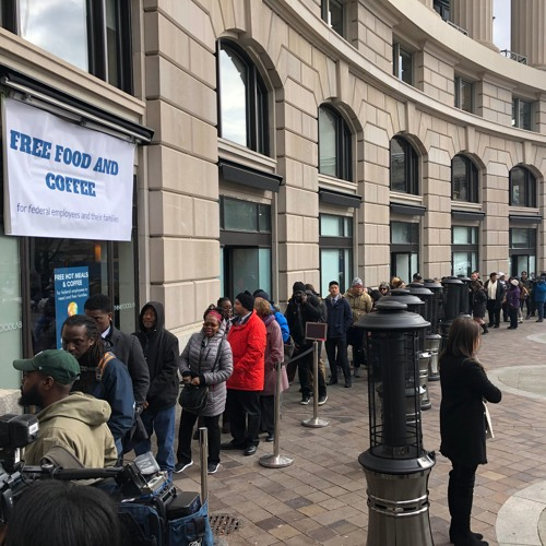Shutdown dag-27: celebrity chefs en voedselbanken in de bres voor ambtenaren