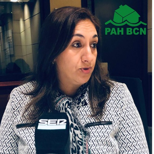 Karima, veïna del bloc #Aragó477, ''Lo que no hace el gobierno, lo hace la PAH''
