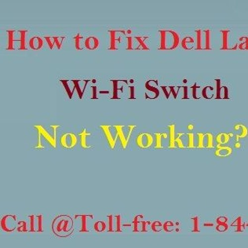 How to Fix Dell Laptop Wifi Switch Not Working by Dell Technical 1
