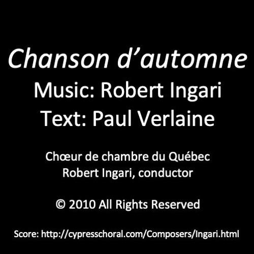 Chanson d'automne (Choeur de chambre du Québec) © R Ingari 2013