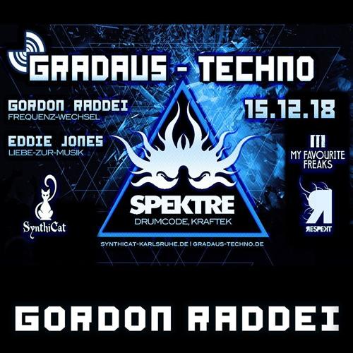Gordon Raddei - GRADAUS-Techno Synthicat Karlsruhe 15.12.2018