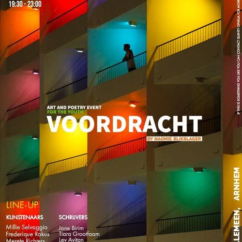 Jane Birim op de 1e Voordracht Willemeen Arnhem 22-11-2018