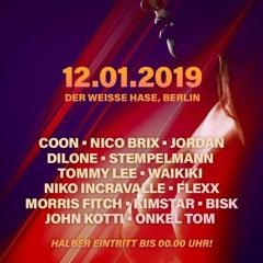 Dj Bisk Live @ Weißer Hase (12.01.19) Pornoparty