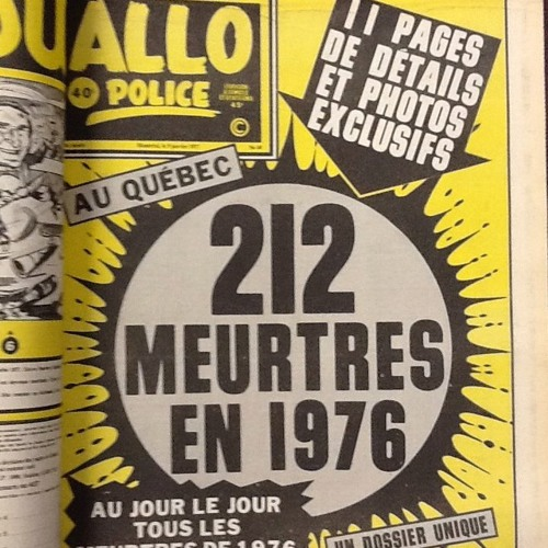 The Montreal Police finally create a Cold Case Squad / WKT3  #2