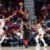 Los Cavaliers de Cleveland y Los Bulls de Chicago el 21 de enero del 2019