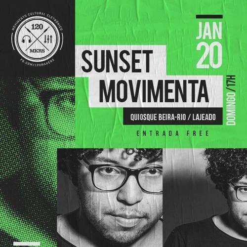 @ Sunset Movimenta - Cris d. (DJ set)
