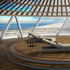 Ocean Waves Sleep Sounds Aboard Luxury Yacht (75 Minutes)