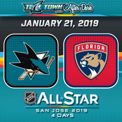 Teal Town USA After Dark (Postgame) - San Jose Sharks @ Florida Panthers - 1-21-2019