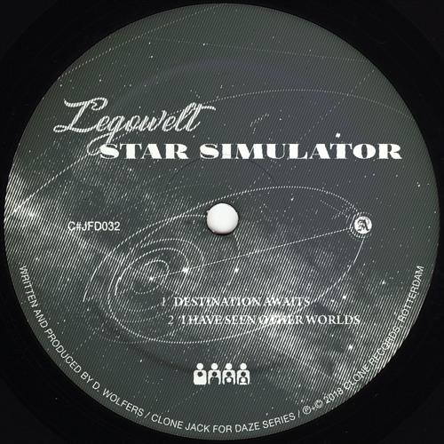 Legowelt - Star Simulator - CJFD32