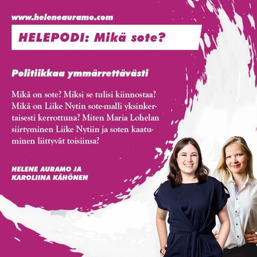 Auramo - Kähönen: Mikä on sote ja mitä Liike Nyt on tehnyt sen eteen?