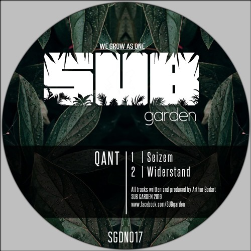 [Premiere] Qant - Widerstand (out on Sub Garden)