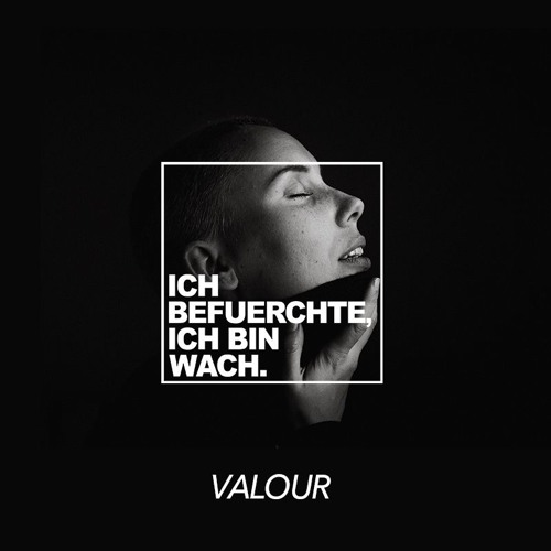VALOUR |  ICH BEFUERCHTE, ICH BIN WACH. 01