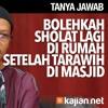 Tanya Jawab: Boleh Shalat Tarawih Lagi Tengah Malam? - Ustadz Abu Ihsan Al-Maidany, MA.