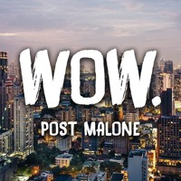 Wow - Post Malone ft. Weezle Artwork