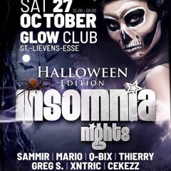 Greg S. @ Insomnia Nights (Glow Club) 27 - 10 - 2018