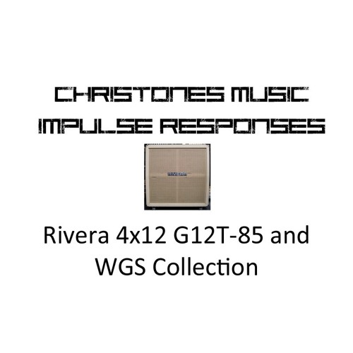 Demo: CTM Rivera 4x12 GT12 - 85 and WGS Collection IRs