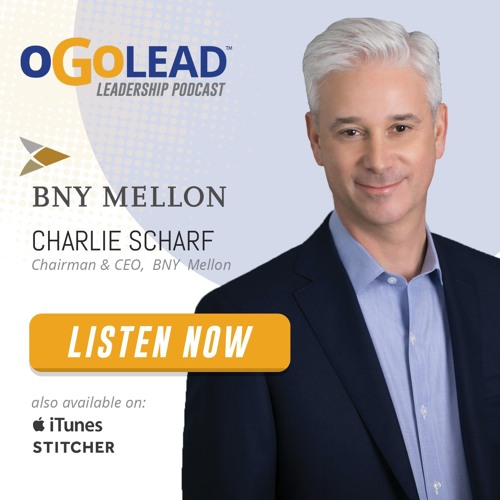 Charlie Scharf, Chairman & CEO of BNY Mellon | #64