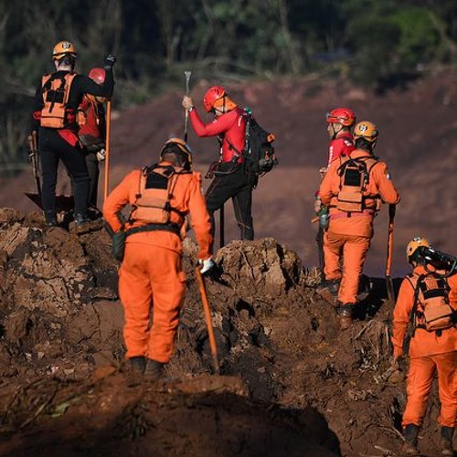 Confirman 60 muertos en el cuarto día de búsqueda en la represa de Brumadinho