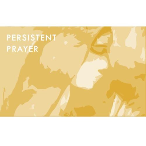 Persistent Prayer_Evening_Bernadette White-Phillips_27012019