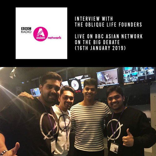 The Oblique Life Founders BBC Asian Network Interview