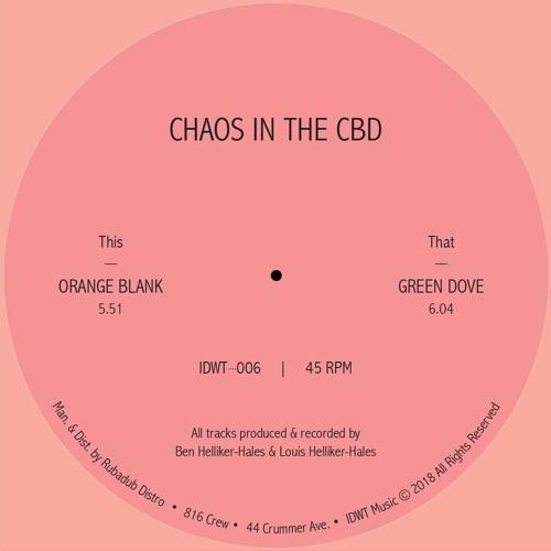Chaos In The CBD - Orange Blank