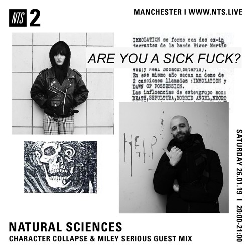 NTS January 2019 • Character Collapse & Miley Serious Guest Mix
