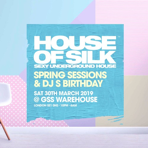 House Of Silk - Part 1 Promo Live Recording DJ S - Spring Sessions - Sat 30th March @ GSS Warehouse