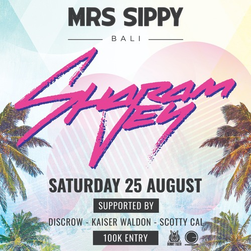 disCrow x Mrs Sippy - Sharam Jey Warm Up 25.8.18