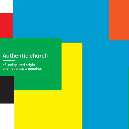 Authentic Church - Preparing For Success; Andy Robinson