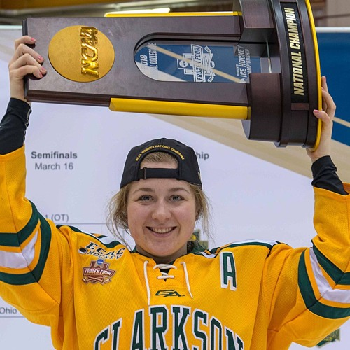 Cassidy Vinkle on Women's Hockey