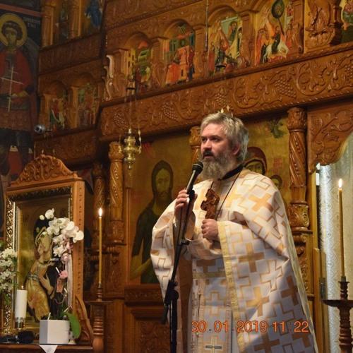 Ierom. Savatie Baștovoi - predică la praznicul Sfinților Trei Ierarhi, Nürnberg 30.01.2019