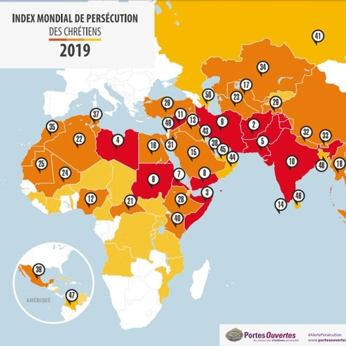 Le nouvel Index Mondial De Persécution Des Chrétiens 2019 est disponible