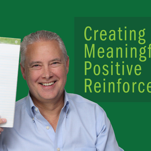 Creating Meaningful Positive Reinforcement - Thoughts from Kevin