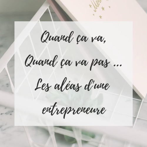 Quand Ça Va Quand Ça Va Pas : Les Aléas D'une Entrepreneure