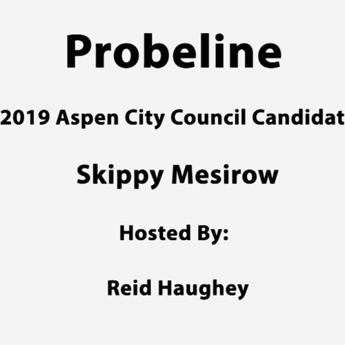 "Probeline - ""2019 Aspen City Council Candidate Skippy Mesirow"""