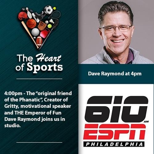 Heart of Sports w Jason Springer & Jeff Cohen: Gritty Creator/Friend of Phanatic Dave Raymond