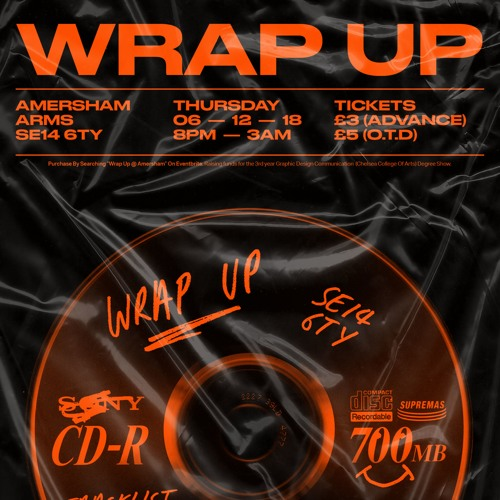 WRAP UP MIX – Amersham Arms, London 06.12.18(135 - 175bpm)