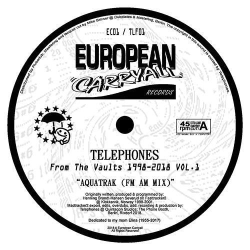 Telephones - From The Vaults 1998-2018 Vol. 1 Taster
