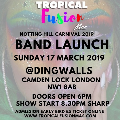 (NEW 2019 Mix) TROPICAL FUSION  MAS OFFICIAL  BAND LAUNCH 17 MARCH  2019