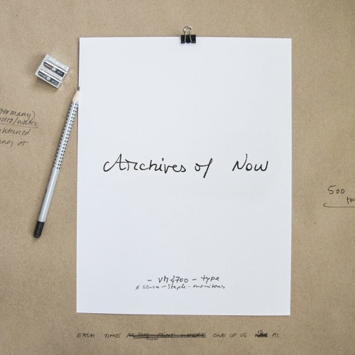 Archive of Now by Something Other