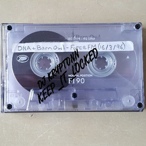 DJ DNA, then Barn Owl - Force 106.4FM 16-03-96