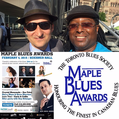 Chat w  Raoul Bhaneja on hosting the 22nd Annual Maple Blues Awards