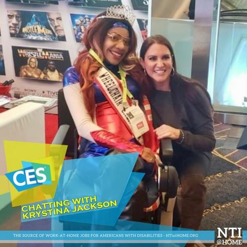Ms Wheelchair California, Krystina Jackson on CES in Vegas